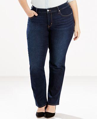 levi's® plus size 314 shaping straight-leg jeans - jeans - plus