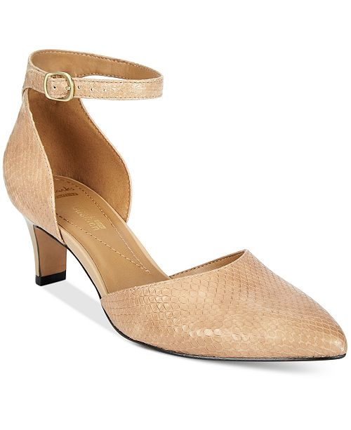 Piece Women's Crewso Pumps Reading Collection Two Clarks HxwSqS