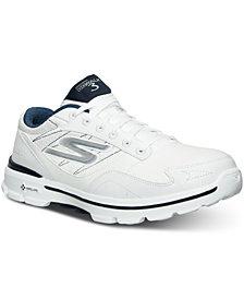 Skechers Men's GOwalk 3 LT Wide Width Walking Sneakers from Finish Line