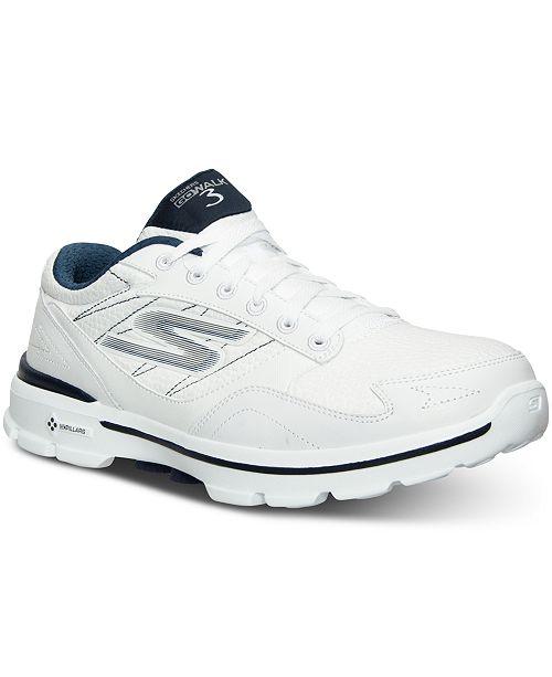 13f1d1154307 ... Skechers Men s GOwalk 3 LT Wide Width Walking Sneakers from Finish ...