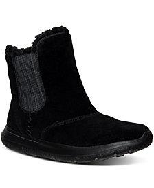 Skechers Women's GOwalk City - Chugga Gore Wide Width Boots from Finish Line