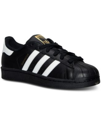 Image of adidas Big Boys' Superstar Casual Sneakers from Finish Line