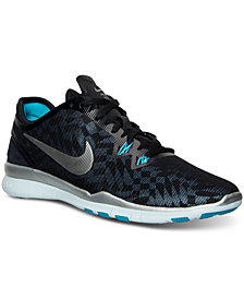 Nike Women's Free 5.0 TR Fit 5 Metallic Training Sneakers from Finish Line