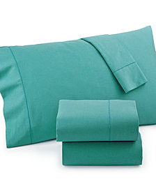 Linen Cotton Queen 4-pc Sheet Set