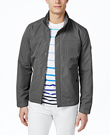 Michael Kors Men's Polytech Stand-Collar Hipster Windbreaker Jacket