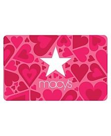 Macy's Hearts E-Gift Card