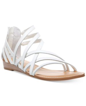 Carlos By Carlos Santana Amara Strappy Flat Sandals Women