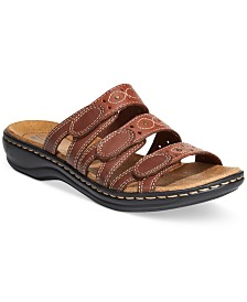 Clarks Collection Women's Leisa Cacti Q Flat Sandals