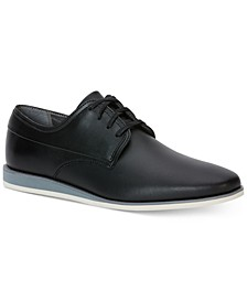 Men's Kellen Textured Leather Oxfords