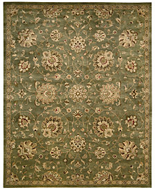 "Nourison Rajah Adelaide Green 9'6"" x 13'6"" Area Rug"