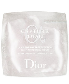 Receive a Complimentary Dior Capture Totale Dreamskin Advanced sample with any Dior foundation purchase