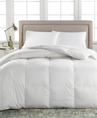 European White Down Medium Weight King Comforter, Created for Macy's