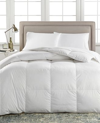 European White Down Medium Weight Comforters Created For Macy S