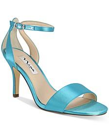 Venetia Ankle-Strap Evening Sandals