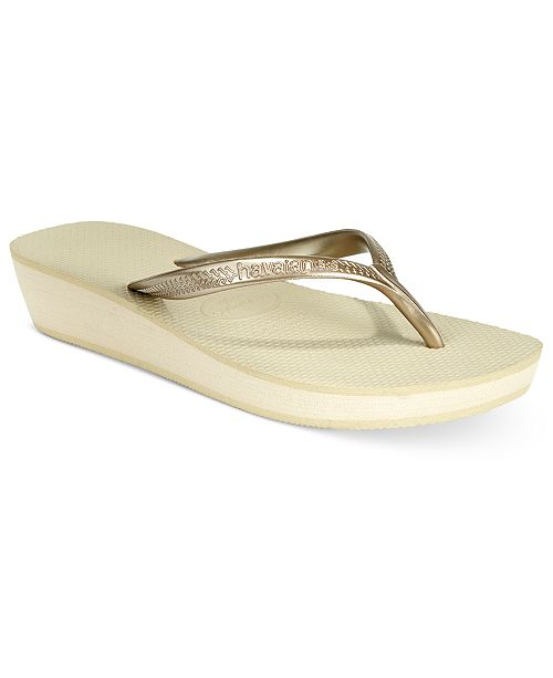242b6a255 Havaianas Women s Highlight Wedge Flip-Flop Sandals   Reviews ...