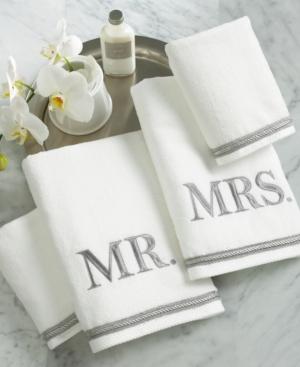 Avanti Bath Towels Mr  Mrs 4 Piece Towel Set Bedding