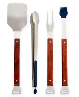 Wood 4-Pc Grilling Set, Created for Macy's
