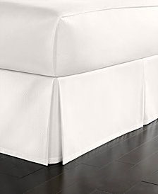Martha Stewart Collection King Cotton Pique Bedskirt
