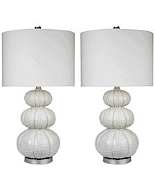 Abbyson Living Set of 2 Ida Table Lamps