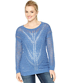 Motherhood Maternity Scoop-Neck Sweater