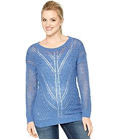 Motherhood Maternity Scoop-Neck Sweater