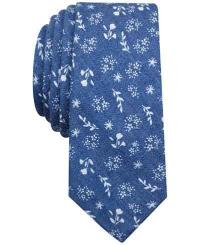 Original Penguin Men's Paradiso Floral Slim Tie