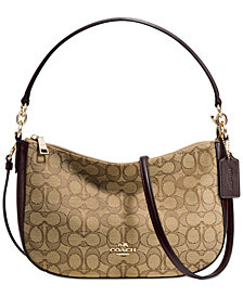 COACH Chelsea Crossbody in Signature Jacquard