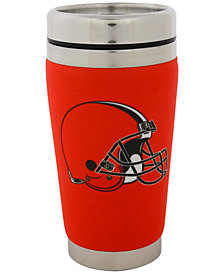 Hunter Manufacturing Cleveland Browns 16 oz. Stainless Steel Travel Tumbler