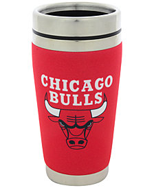 Hunter Manufacturing Chicago Bulls 16 oz. Stainless Steel Travel Tumbler