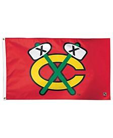 Chicago Blackhawks Deluxe Flag