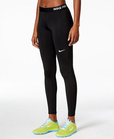 nike pro leggings pants capris women macy 39 s. Black Bedroom Furniture Sets. Home Design Ideas