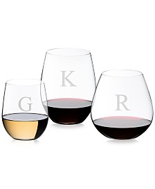 Riedel O Monogram Collection, Block Letter