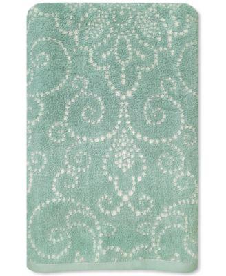 Lenox French Perle Groove Bath Towel