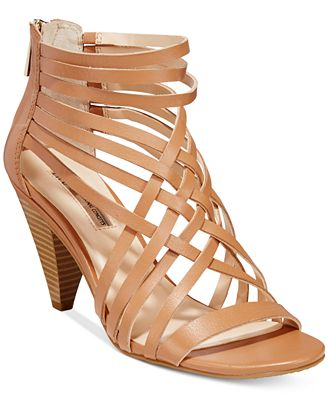 INC International Concepts Garoldd Strappy High Heel Dress Sandals, Created for Macy's