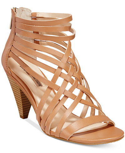 INC International Concepts Garoldd Strappy High Heel Dress Sandals ...