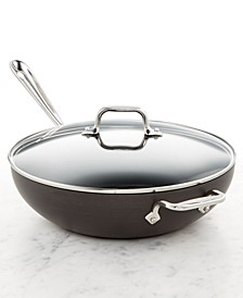 "Hard Anodized 12"" Chefs Pan with Lid"