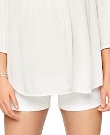 Maternity Cuffed Shorts