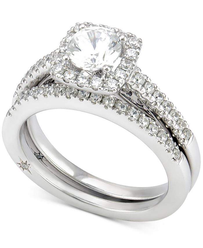 Marchesa - Certified Diamond Bridal Set (1-1/4 ct. t.w.) in 18k White Gold