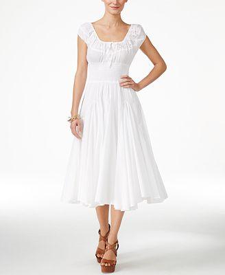 Grace Elements Peasant Dress - Dresses - Women - Macy\'s