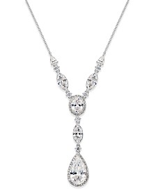 Eliot Danori Crystal Y-Neck Necklace, Created for Macy's
