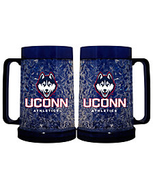 Memory Company Connecticut Huskies 16oz Freezer Mug Color Insert
