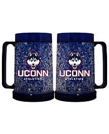 Memory Company Connecticut Huskies 16oz Freezer Mug Color Insert