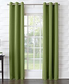 """Sun Zero Tabbey Room Darkening Grommet 40"""" x 63"""" Curtain Panel"""