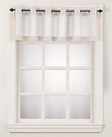 """Lichtenberg No. 918 Montego 56"""" x 14"""" Grommet Curtain Valance"""