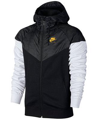 eaa4fed1df14 Nike Men s Air Hybrid Fleece Windrunner Hoodie   Reviews - Hoodies    Sweatshirts - Men - Macy s