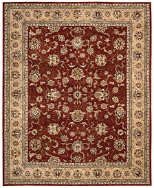 Nourison Wool & Silk 2000 2203 Brick Area Rug