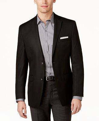 Alfani Slim-Fit Solid Blazer - Blazers & Sport Coats - Men - Macy's
