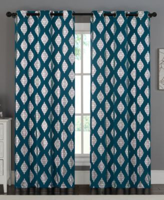 "Sorrento Pair of 76"" x 96"" Panels"