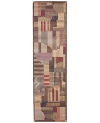 "CLOSEOUT! Area Rug, Somerset ST22 Clarkstown Multi 2' 3"" x 8' Runner Rug"