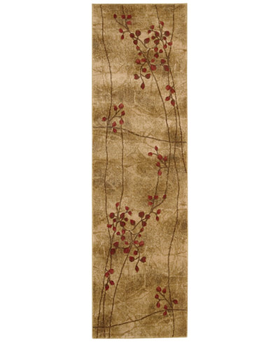 CLOSEOUT! Nourison Area Rug, Somerset Collection ST74 Latte Blossom 2' x 5'9